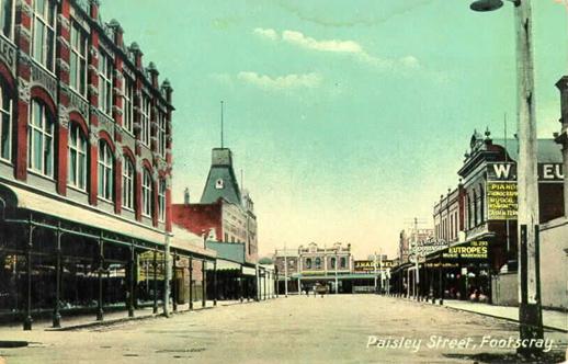 Paisley Street, Footscray