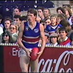 Jim Sewell 1985 during 3rd quarter of 1985 First Semi Final