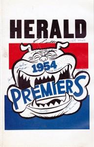 Herald Sun Premiers 1954